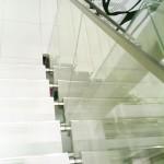 balustrade de sticla cu profile de aluminiu