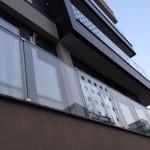 balcon sticla
