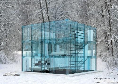 Casa din Sticla creata de Santambrogiomilao