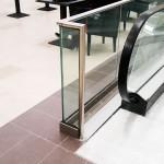 balustrada sticla cu protectie