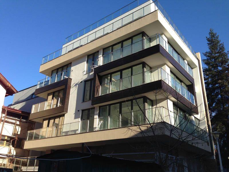 balcon rezidential sticla