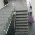 balustrada din sticla laminata si securizata