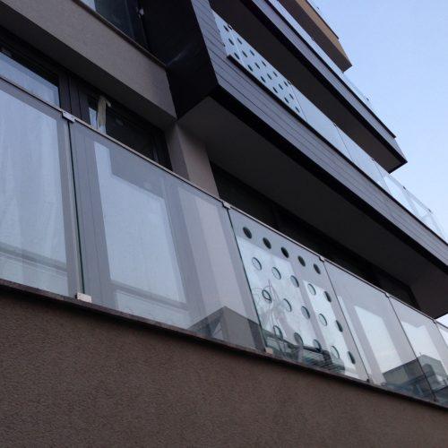 balustrada sticla spatii rezidentiale
