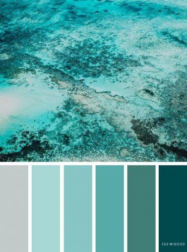 Tendinte in Designul Interior in 2021 nuante oceanice
