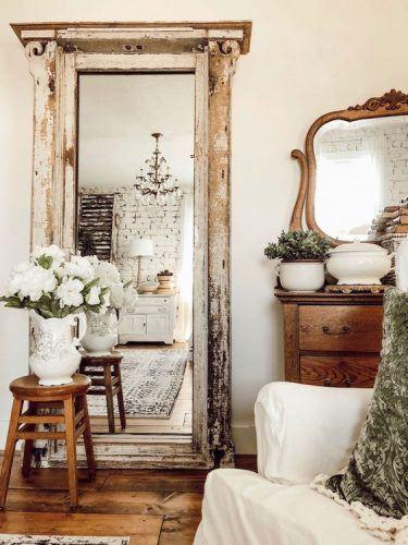 Tendinte in Designul Interior in 2021 oglinda vintage