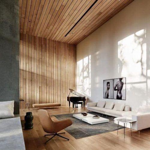 Tendinte in Designul Interior in 2021 placari lemn