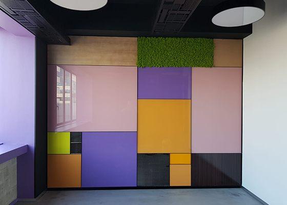 Placari Sticla Colorata